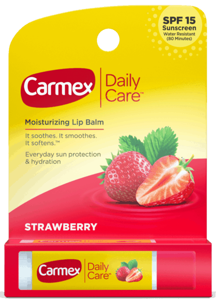 $0.25 for Carmex® Daily Care Lip Balm (expiring on Wednesday, 05/02/2018). Offer available at multiple stores.