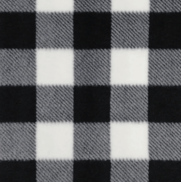$0.50 for Black White Buffalo Check Fabric (expiring on Tuesday, 04/02/2019). Offer available at JOANN .