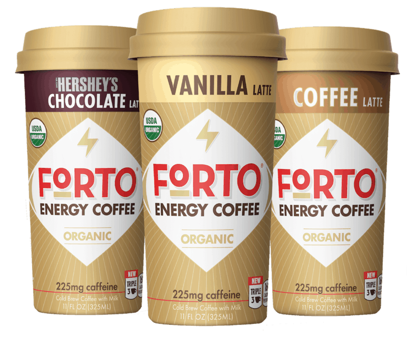 $3.96 for FORTO Energy Coffee (expiring on Thursday, 03/26/2020). Offer available at Walmart.