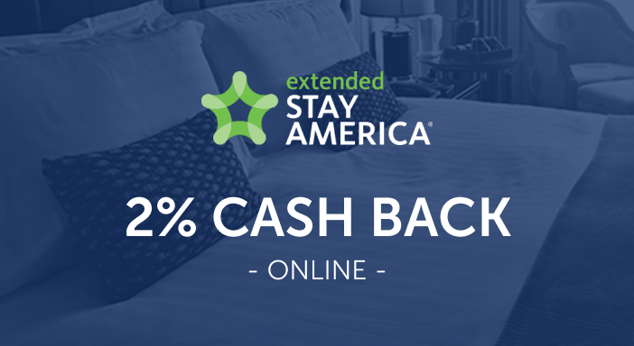 $0.00 for Extended Stay America (expiring on Wednesday, 04/30/2025). Offer available at Extended Stay America.