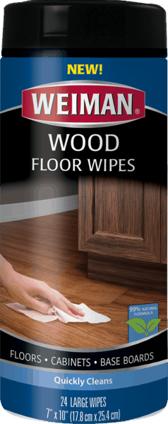 $0.75 for Weiman® Wood Floor Wipes (expiring on Friday, 10/20/2017). Offer available at Walmart.