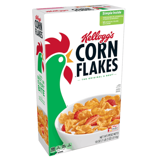 $0.50 for Kellogg's® Corn Flakes® Cereal. Offer available at multiple stores.
