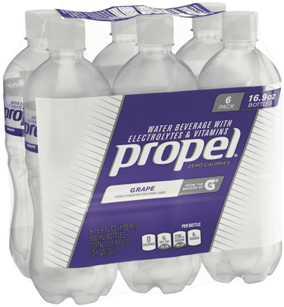 $0.50 for Propel® Electrolyte Water Multipack (expiring on Saturday, 03/02/2019). Offer available at Target.