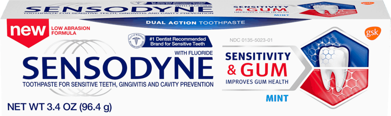 $1.50 for Sensodyne Sensitivity & Gum Toothpaste. Offer available at Walmart, Walmart Grocery.