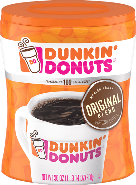$1.00 for Dunkin' Donuts® Canister (expiring on Sunday, 06/02/2019). Offer available at Walmart.