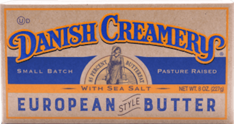 $0.75 for Danish Creamery European Style Butter (expiring on Monday, 01/20/2020). Offer available at multiple stores.