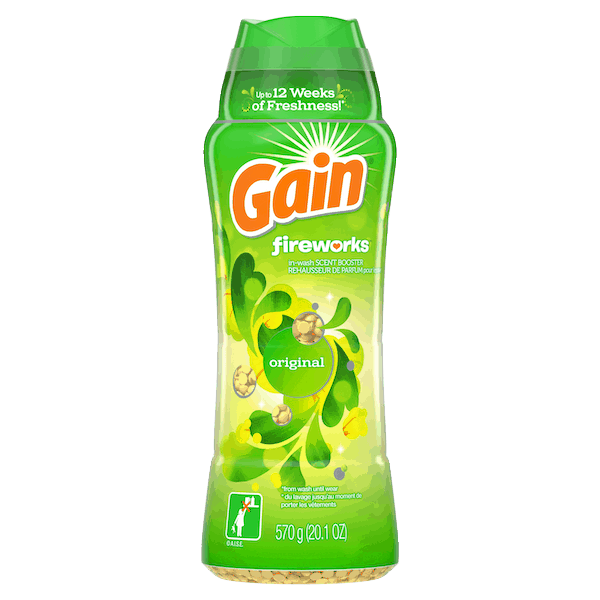 $1.25 for Gain® Fireworks. Offer available at Walmart.