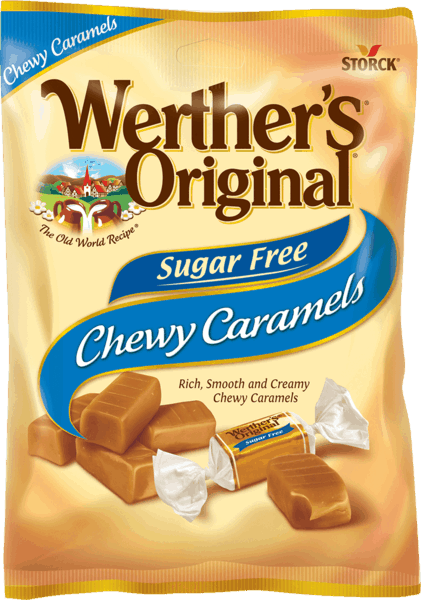 $0.75 for Werther's® Original® Sugar Free Caramels (expiring on Friday, 03/16/2018). Offer available at multiple stores.