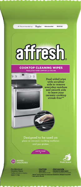 $1.00 for Affresh® Cooktop Cleaning Wipes (expiring on Monday, 10/30/2017). Offer available at Kroger.