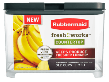 $2.00 for Rubbermaid® FreshWorks™ (expiring on Sunday, 11/17/2019). Offer available at Walmart.