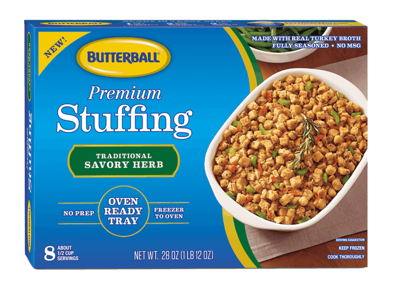 $1.00 for Butterball® Premium Stuffing (expiring on Tuesday, 12/31/2019). Offer available at multiple stores.
