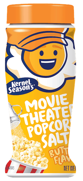 $0.50 for Kernel Season's® Movie Theater Popcorn Salt (expiring on Tuesday, 04/02/2019). Offer available at Walmart.