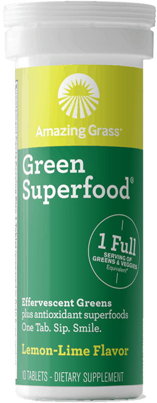 $1.50 for Amazing Grass® Green Superfood® Effervescent (expiring on Sunday, 09/01/2019). Offer available at multiple stores.