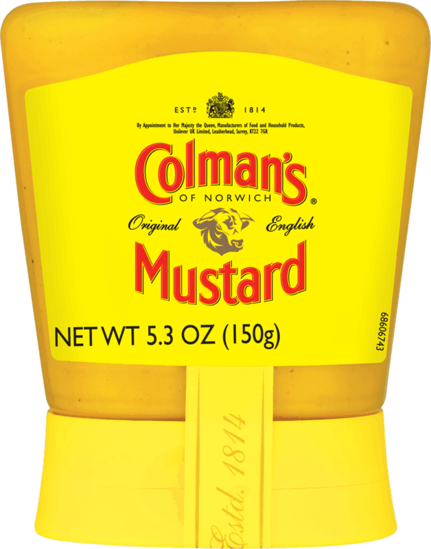 $1.00 for Colman's Squeezy Prepared Mustard (expiring on Tuesday, 08/24/2021). Offer available at multiple stores.