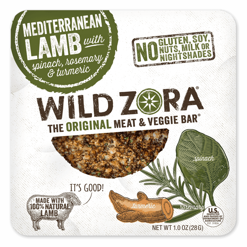 $0.50 for Wild Zora — The Original Meat & Veggie Bar® (expiring on Monday, 03/25/2019). Offer available at King Soopers, Walmart, Natural Grocers.