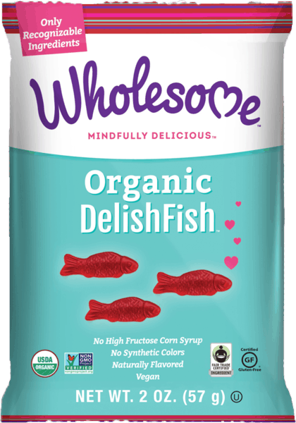 $1.00 for Wholesome!® Organic DelishFish (expiring on Wednesday, 05/02/2018). Offer available at multiple stores.