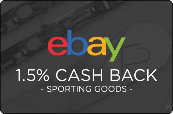 $0.00 for Ebay Sporting Goods (expiring on Tuesday, 05/01/2018). Offer available at eBay.