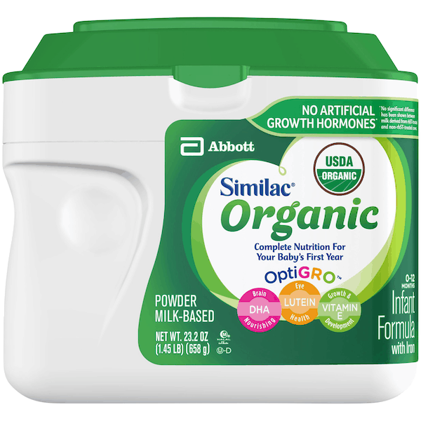 $5.00 for Similac® Organic Infant Formula (expiring on Tuesday, 04/02/2019). Offer available at multiple stores.