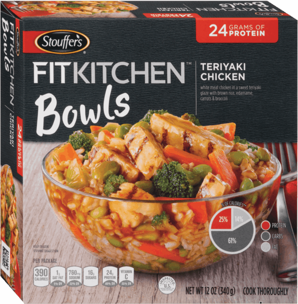 $1.00 for STOUFFER'S® FIT KITCHEN® Bowls. Offer available at Stop & Shop, Martin's (IN, MI), Giant (DC,DE,VA,MD), GIANT (PA,WV,MD,VA), MARTIN'S.