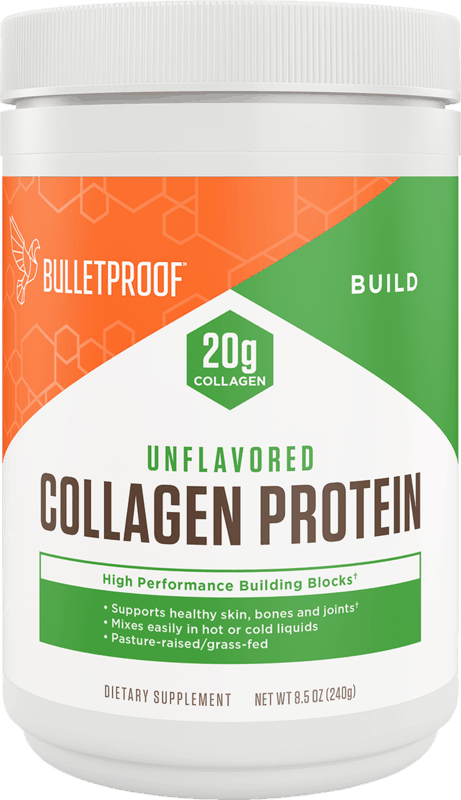 $6.00 for Bulletproof Collagen Protein Powder. Offer available at Whole Foods Market.