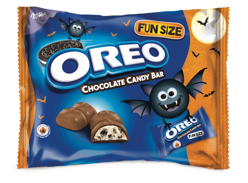 0 75 For Oreo Chocolate Candy Bar Halloween Fun Size Offer Available At Walmart Printable Coupons