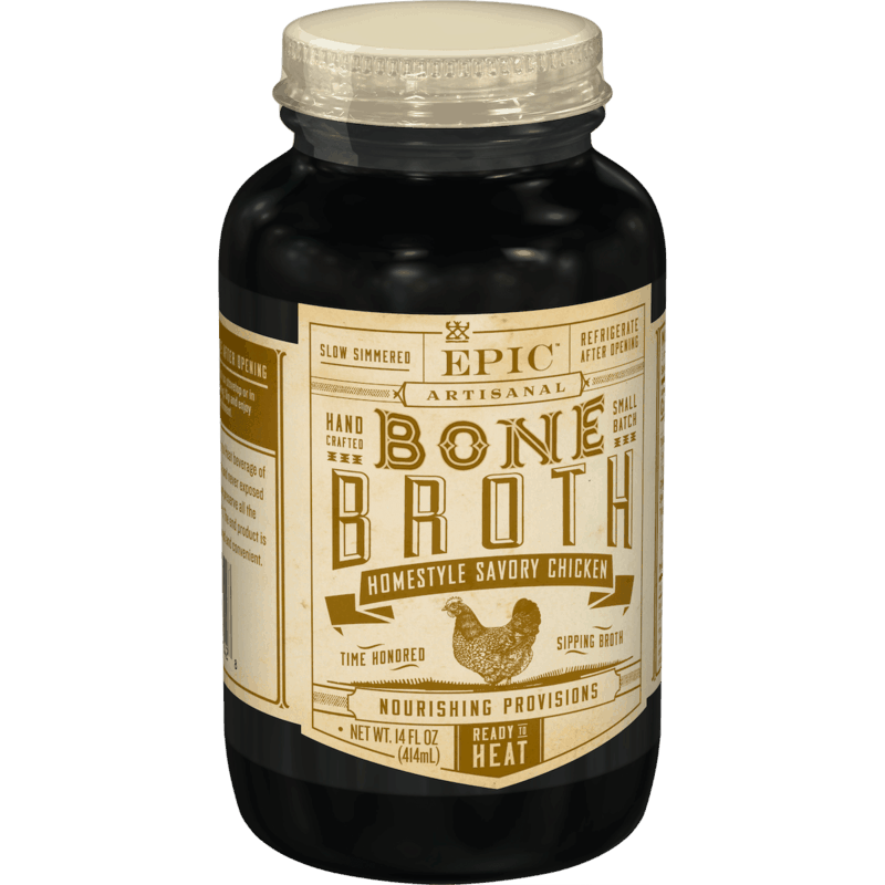 $2.00 for EPIC Bone Broth (expiring on Friday, 07/03/2020). Offer available at Whole Foods Market®.