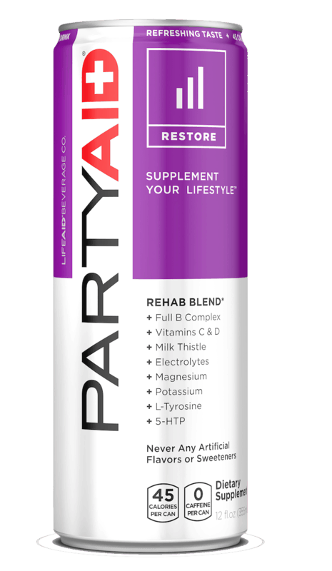 $0.75 for PARTYAID Rehab Blend (expiring on Sunday, 05/17/2020). Offer available at multiple stores.