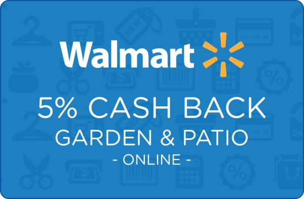 $0.00 for Walmart.com Garden & Patio (expiring on Wednesday, 04/01/2020). Offer available at Walmart.com.