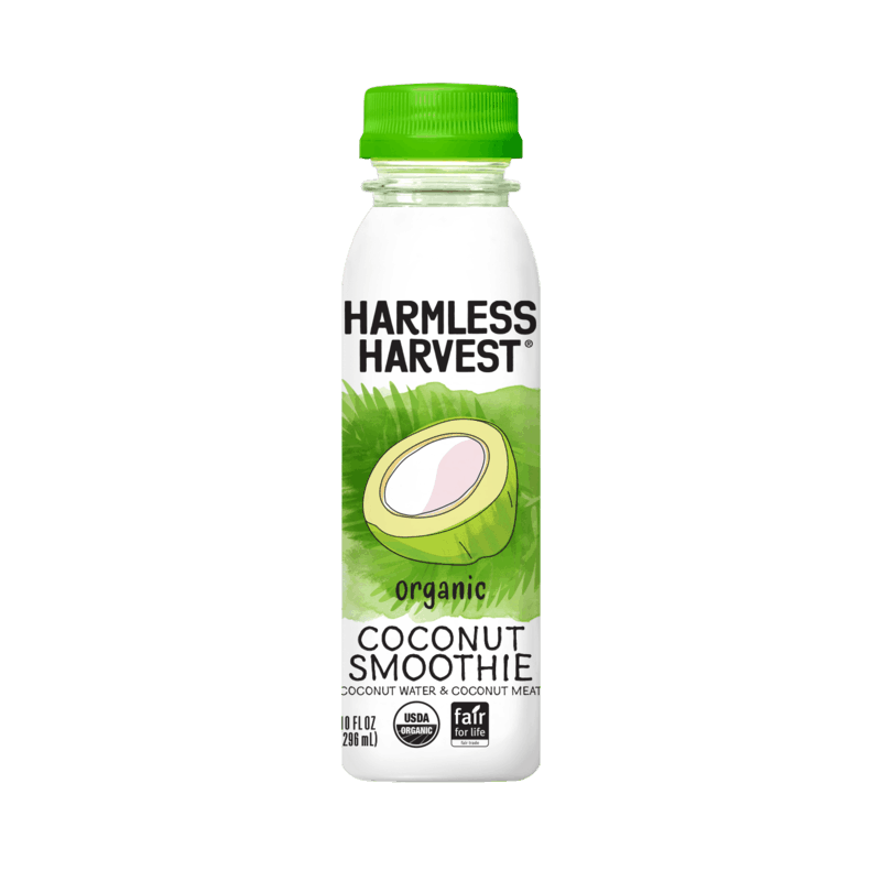 $1.00 for Harmless Harvest Coconut Smoothie (expiring on Wednesday, 01/12/2022). Offer available at Publix.