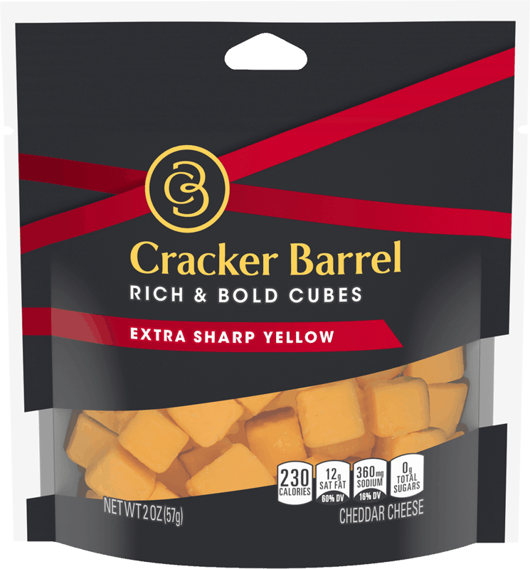 $0.50 for Cracker Barrel Cheese Cubes (expiring on Sunday, 05/31/2020). Offer available at multiple stores.