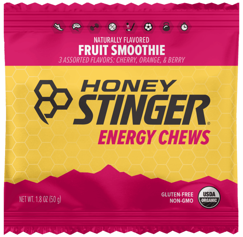 $1.00 for Honey Stinger Energy Chews (expiring on Saturday, 09/18/2021). Offer available at multiple stores.
