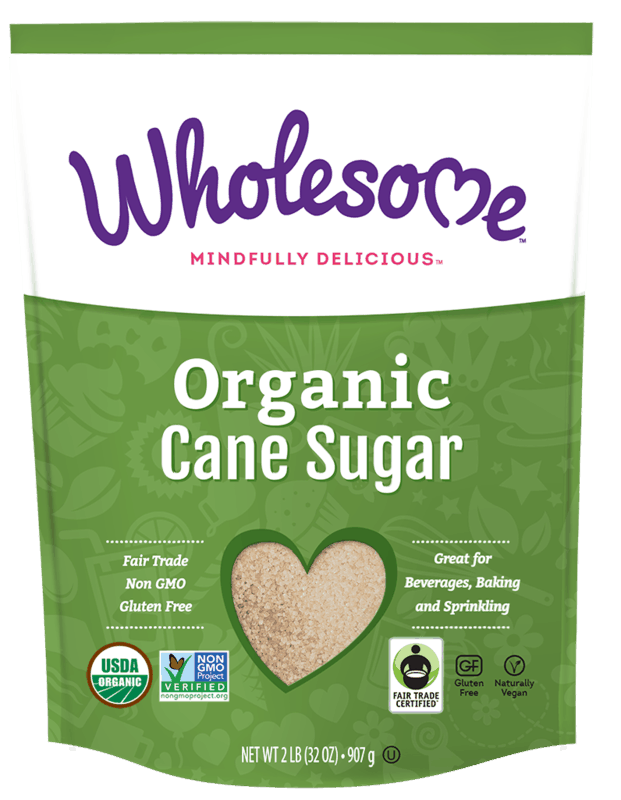 $1.50 for Wholesome Organic Cane Sugar (expiring on Monday, 08/03/2020). Offer available at multiple stores.
