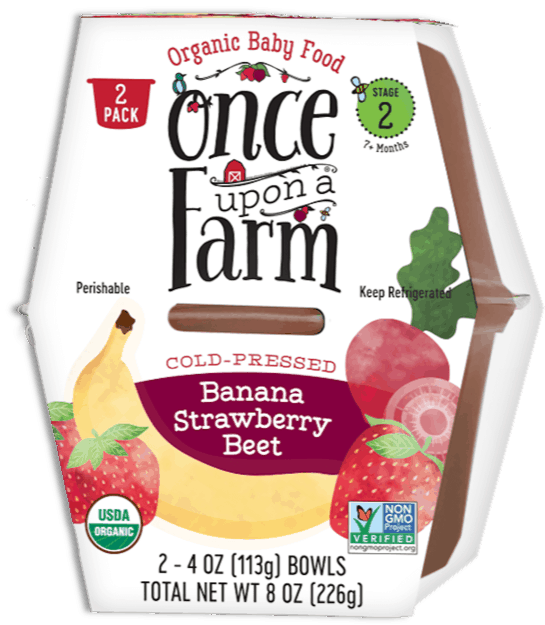 $0.50 for Once Upon A Farm Organic Baby Food (expiring on Wednesday, 09/30/2020). Offer available at multiple stores.