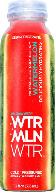 $0.50 for WTRMLN WTR Cold-Pressed Watermelon Juice. Offer available at Walmart.