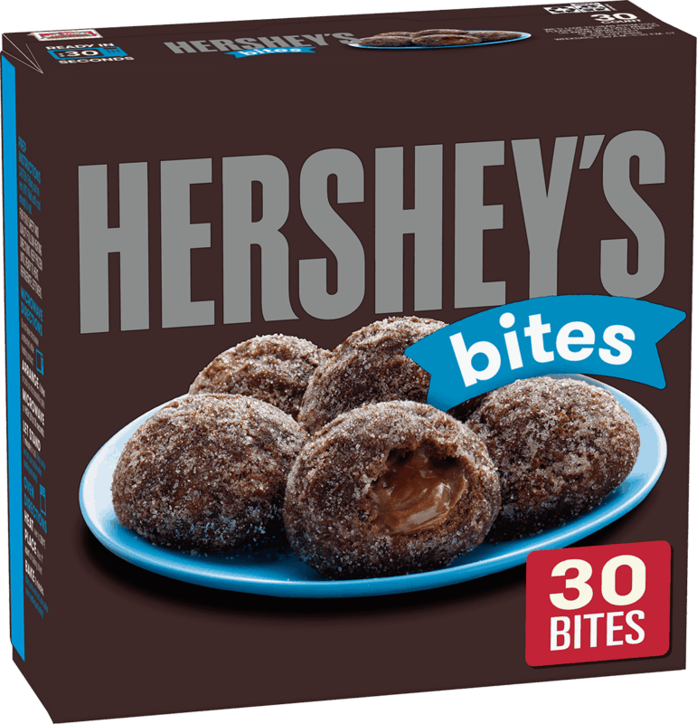 $0.75 for HERSHEY'S Soft Donut Bites (expiring on Monday, 03/02/2020). Offer available at Walmart.