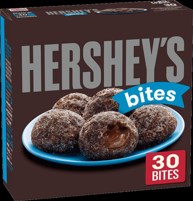 $0.75 for HERSHEY'S Soft Donut Bites (expiring on Thursday, 04/02/2020). Offer available at Walmart.