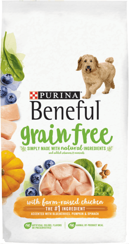 $0.75 for PURINA Beneful Dog Food (expiring on Sunday, 08/02/2020). Offer available at multiple stores.