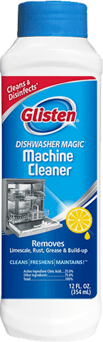 $1.00 for Glisten® Dishwasher Magic® Machine Cleaner. Offer available at multiple stores.
