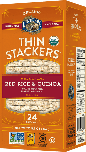 $0.75 for Lundberg Family Farms® Thin Stackers (expiring on Monday, 09/24/2018). Offer available at multiple stores.