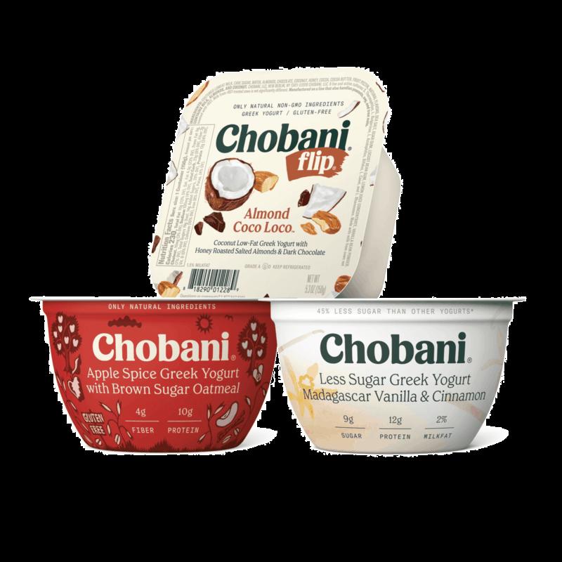 $1.00 for Chobani® Greek Yogurt (expiring on Thursday, 12/10/2020). Offer available at Giant Eagle.