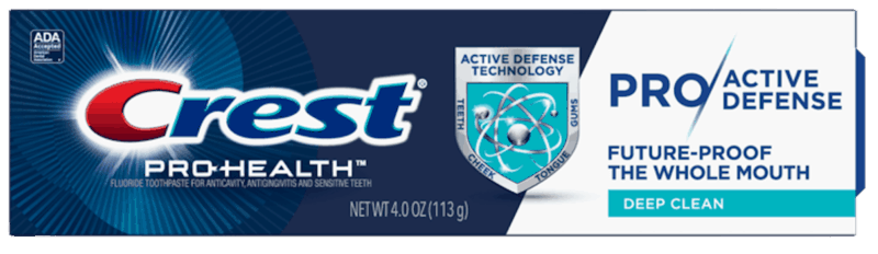 $2.00 for Crest Pro-Active Defense (expiring on Friday, 04/17/2020). Offer available at multiple stores.