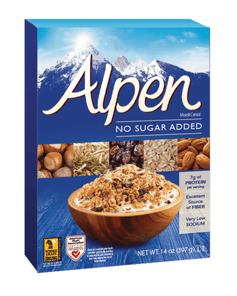 $2.00 for Alpen® Cereal (expiring on Thursday, 02/22/2018). Offer available at multiple stores.