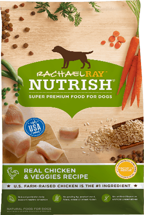 $2.00 for Rachael Ray™ Nutrish® Dry Dog Food (expiring on Wednesday, 01/31/2018). Offer available at multiple stores.
