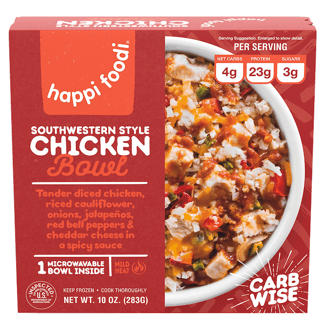 $1.25 for Happi Foodi Keto Bowls (expiring on Saturday, 04/18/2020). Offer available at Walmart, Walmart Grocery.