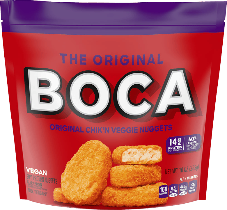 $1.00 for BOCA Veggie Nuggets (expiring on Sunday, 08/02/2020). Offer available at Kroger, Publix, Giant Eagle, Ingles.