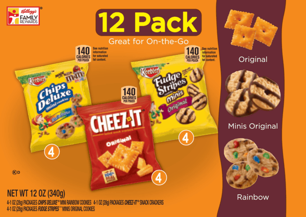 $0.50 for Keebler® Crackers and Cookies. Offer available at Walmart.