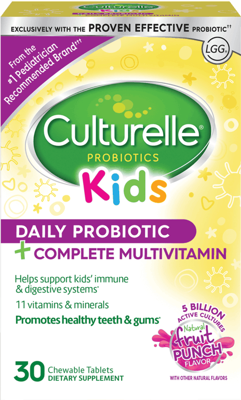 $7.00 for Culturelle® Kids Probiotic + Multivitamin Chewable. Offer available at Target.