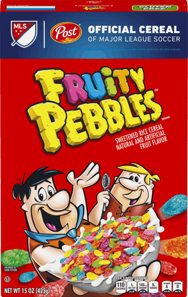 $0.15 for Fruity Pebbles™ (expiring on Tuesday, 04/02/2019). Offer available at multiple stores.