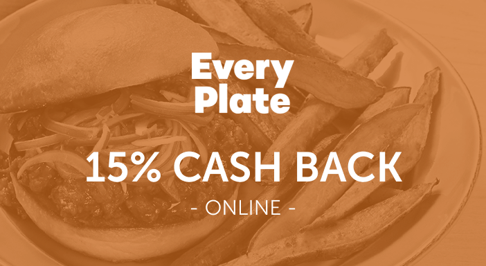 $0.00 for EveryPlate (expiring on Tuesday, 09/30/2025). Offer available at EveryPlate.