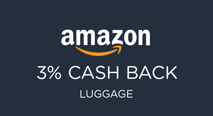 $0.00 for Amazon Luggage (expiring on Wednesday, 01/01/2025). Offer available at Amazon.